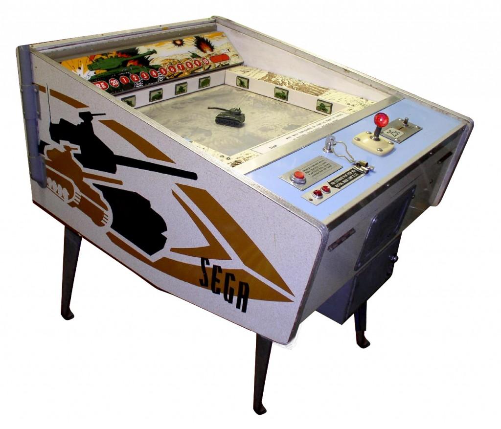 Sega Attack maquina electromecánica