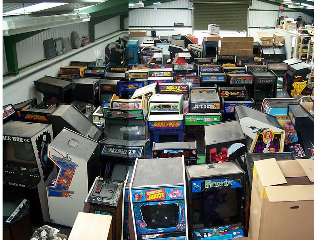Las máquinas almacenadas en el garaje de mi tío.