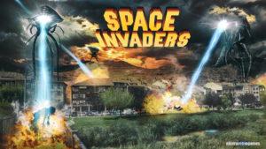 space invaders en najera