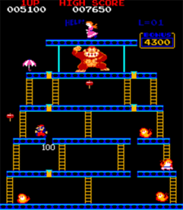 Donkey Kong nivel 4