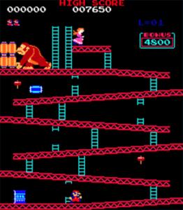 Donkey Kong Nivel 1