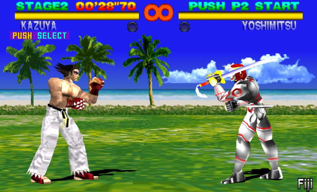 Arcade Tekken en 3D