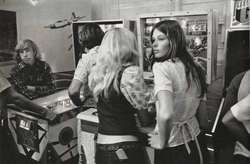 Salón recreativo años 80