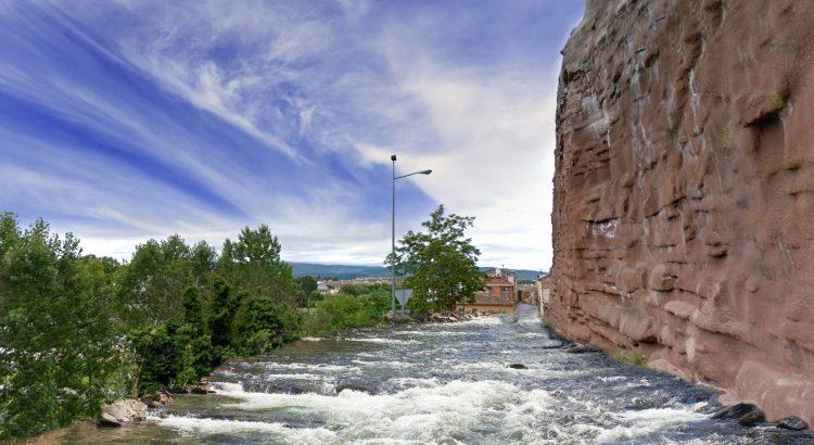 Desvían el río Najerilla por Peñaescalera